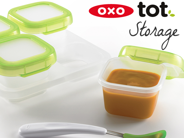 OXO ベビーの保存容器